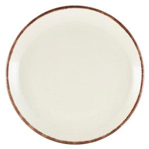 Terra Stoneware Sereno Brown Coupe Plate 7.5inch / 19cm