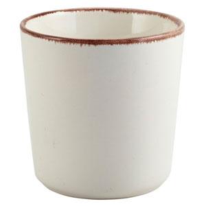 Terra Stoneware Sereno Brown Chip Cup 3.3inch / 8.5cm