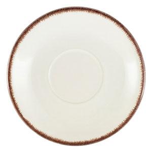 Terra Stoneware Sereno Brown Saucer 5.9inch / 15cm