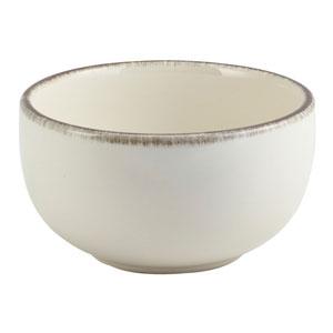 Terra Stoneware Sereno Grey Round Bowl 4.9inch / 12.5cm