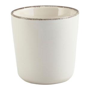 Terra Stoneware Sereno Grey Chip Cup 3.3inch / 8.5cm