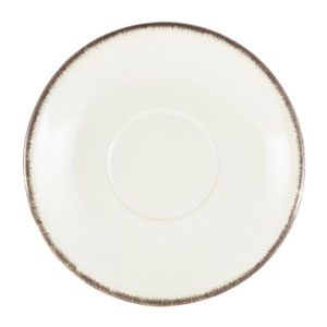 Terra Stoneware Sereno Grey Saucer 5.9inch / 15cm