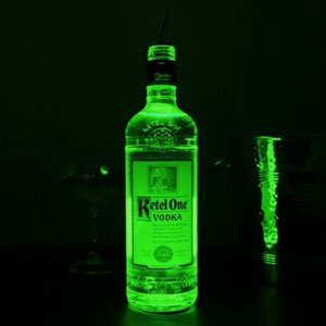 LED Bottle Glorifiers Green