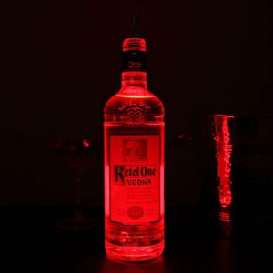 LED Bottle Glorifiers Red