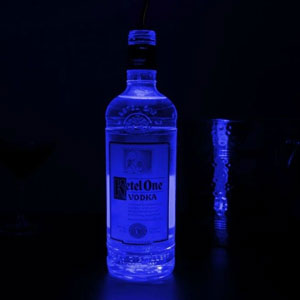 LED Bottle Glorifiers Blue