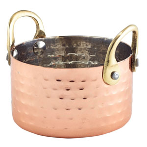 Mini Hammered Copper Casserole Dish 11.25oz / 320ml