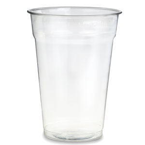 Recyclable PET Pint to Rim Tumbler 20oz / 568ml