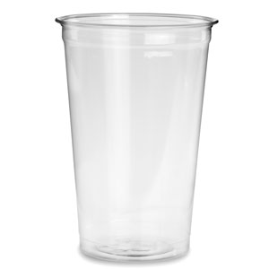 Recyclable PET Pint to Line Tumbler 24oz / 680ml
