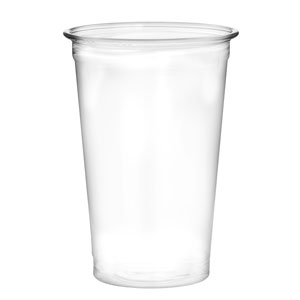 Recyclable PET Half Pint to Line Tumbler 12.3oz / 350ml