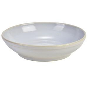 "Terra Stoneware Rustic White Coupe Bowls 10.8"" / 27.5cm"