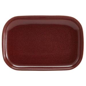 Terra Stoneware Rustic Red Rectangular Plates 11.4 / 29cm
