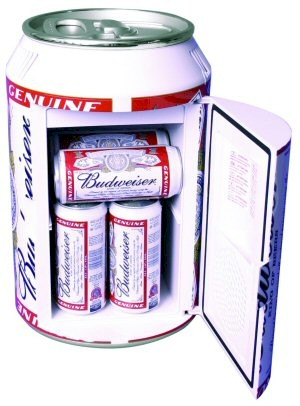 Budweiser Can Mini Fridge Drinkstuff