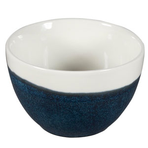Churchill Monochrome Sapphire Blue Sugar Bowl 8oz / 227ml