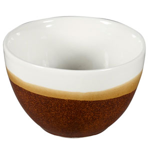 Churchill Monochrome Cinnamon Brown Sugar Bowl 8oz / 227ml