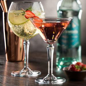 Utopia Hudson Martini Glasses 8oz / 230ml