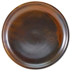 """Terra Porcelain Coupe Plates Rustic Copper  7.5"""" / 19cm"""