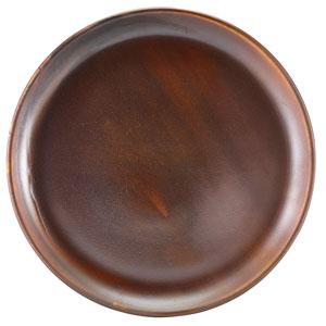 """Terra Porcelain Coupe Plates Rustic Copper 10.8"""" / 27.5cm"""