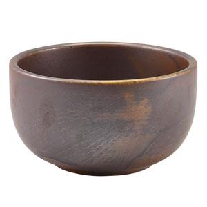 """Terra Porcelain Round Bowls Rustic Copper 4.9"""" / 12.5cm"""
