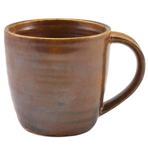 Terra Porcelain Mugs Rustic Copper 11.25oz / 320ml