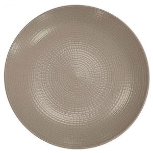 "Modulo Nature Plates Taupe 11"" / 28cm"
