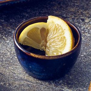 """Terra Porcelain Round Bowls Aqua Blue 4.5"""" / 11.5cm"""