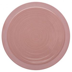 "Bahia Round Dinner Plates Pink Sand 9"" / 23cm"
