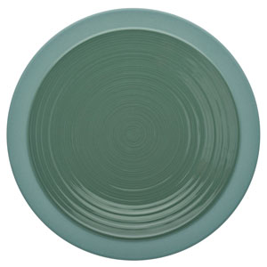 "Bahia Round Dinner Plates Green Clay 10.2"" / 26cm"