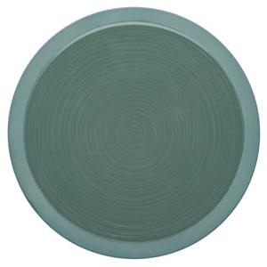 "Bahia Round Dinner Plates Green Clay 11.4"" / 29cm"