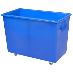Recycled Bottle Skip 165ltr Blue 820 x 455 x 620mm