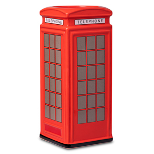 Ceramic Red Telephone Box Tiki Mug 25.8oz / 735ml