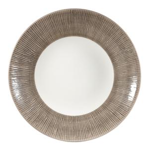 Churchill Bamboo Dusk Deep Coupe Plate 11inch / 28.1cm