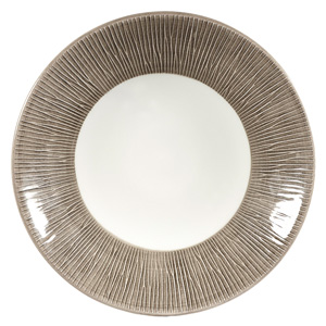 Churchill Bamboo Dusk Deep Coupe Plate 8.8inch / 22.5cm