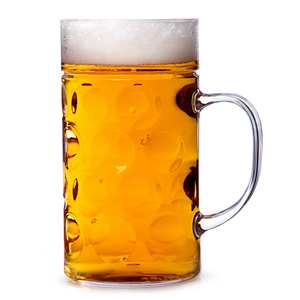 Plastic Beer Stein 1 Pint / 580ml