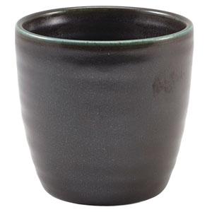 Terra Porcelain Chip Cups Black 11.25oz / 320ml