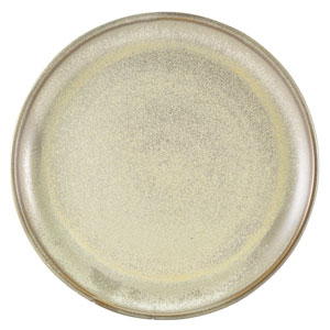 "Terra Porcelain Coupe Plates Matt Grey 10.8"" / 27.5cm"