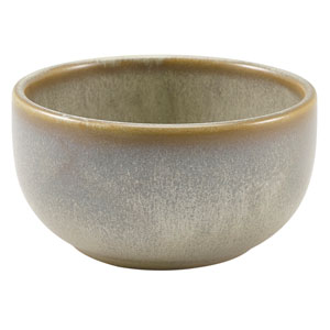 "Terra Porcelain Round Bowls Matt Grey 4.5"" / 11.5cm"