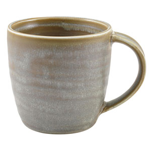 Terra Porcelain Mugs Matt Grey 11.25oz / 320ml