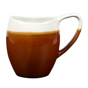 Churchill Bulb Cups Cinnamon Brown 12.5oz / 360ml