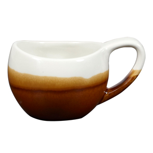 Churchill Bulb Cups Cinnamon Brown 6.3oz / 180ml