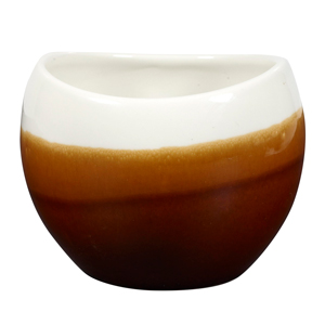 Churchill Bulb Chip Mugs Cinnamon Brown 10.5oz / 300ml