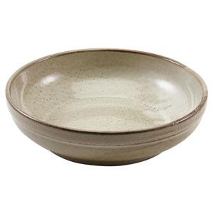 """Terra Porcelain Coupe Bowls Grey 11.8"""" / 20cm"""
