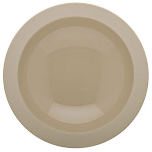 Bahia Round Deep Plates Beige Dune 7.8inch / 20cm