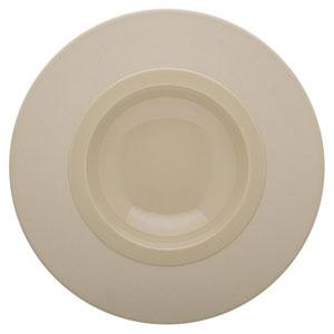 Bahia Round Gourmet Plates Beige Dune 9inch / 23cm
