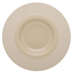 Bahia Round Pasta Plates Beige Dune 10.2inch / 26cm