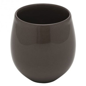 Bahia Tea Cups Brown Basalt 7oz / 200ml