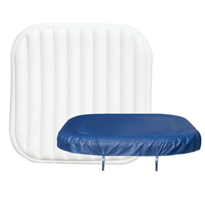 Lay Z Spa Hawaii Airjet Top Leatheroid Cover and Top Inflatable Cover