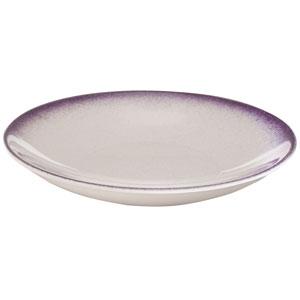 """Ombré Deep Coupe Plates Orchid 9.4"""" / 24cm"""