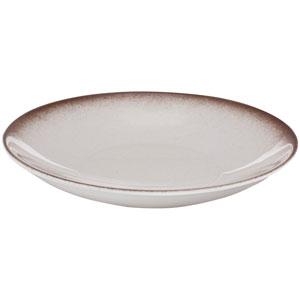 """Ombré Deep Coupe Plates Brown 9.4"""" / 24cm"""