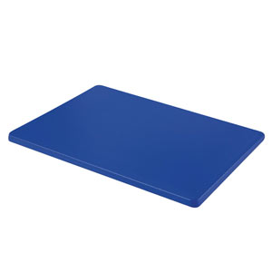Colour Coded Chopping Board 1 inch Blue - Raw Fish
