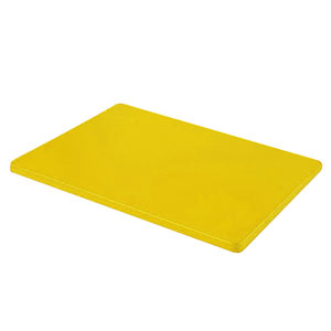 Colour Coded Chopping Board 1 inch Yellow - Cooked Meats